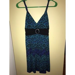 Candies blue and black sundress